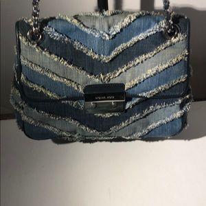 Michael Kors Bags - Authentic Michael Kors denim shoulder bag